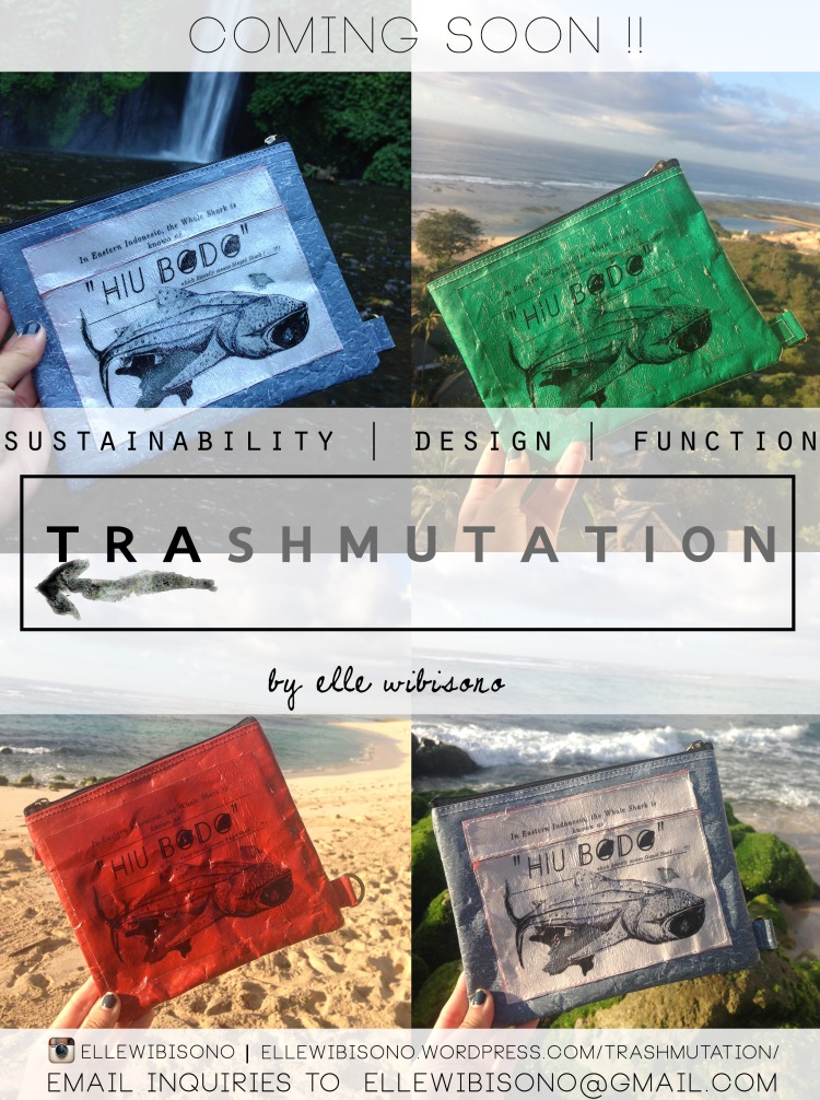 Trashmutation- Coming Soon! (Bring it to the beach and protect your valuables- the pouch is weather proof!)